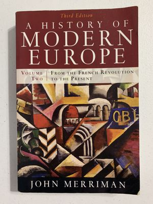 A History of Modern Europe Volume Two / Merriman for Sale in Norwalk, CA