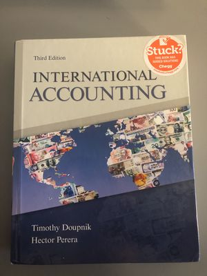International Accounting 3rd edition for Sale in Salt Lake City, UT