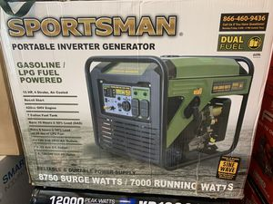 Brand new sportsman 8750 inverter generator dual fuel quiet not negotiable for Sale in Plant City, FL