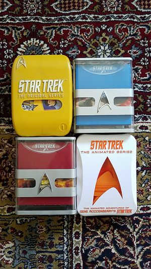 Star Trek Original Series and Animated Series DVDs for Sale in Dallas, TX