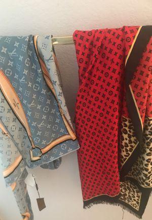 Louis Vuitton scarfs authentic for Sale in Dallas, TX