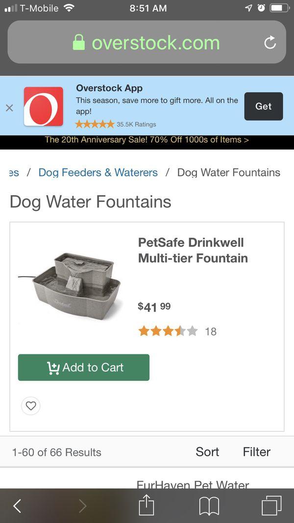 Petsafe water fountain