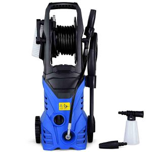 1800W 2030PSI Electric Pressure Washer Cleaner with Hose Reel for Sale in Wildomar, CA