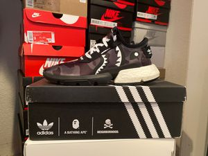 Adidas BAPE NBHD POD 3.1 size 9 for Sale in Palo Alto, CA