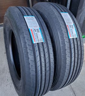 295 75 22.5 AMERICUS TRAILER COMMERCIAL TRUCK TIRES for Sale in Rancho Cucamonga, CA