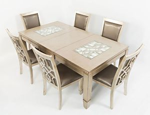 Matching furniture set/ 6 seater table for Sale in Tacoma, WA