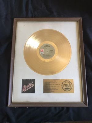 Humble Pie Golden Record for Sale in Industry, CA