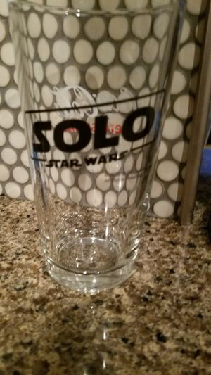 Solo Star Wars Collectible Pint Glass for Sale in Cuyahoga Falls, OH