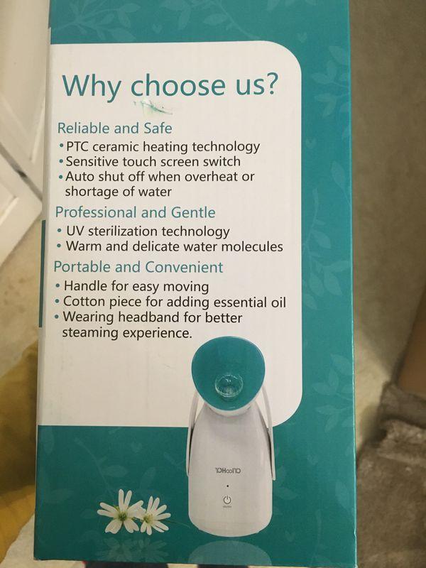 Aromatherapy Facial Steamer Warm Mist Spa