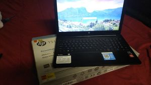 HP15 Laptop PC refurbished factory reset it with box and plastics for Sale in Mesa, AZ