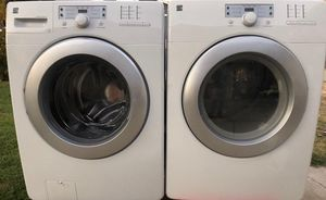 Kenmore electric dryer and kenmore washer in good condition for Sale in Ceres, CA