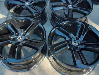 R19 Rim's Gloss black For Honda Accord Sports Wheel's for Sale in Newport Beach,  CA