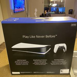 Brand New PS5 Digital Edition for Sale in Redlands, CA