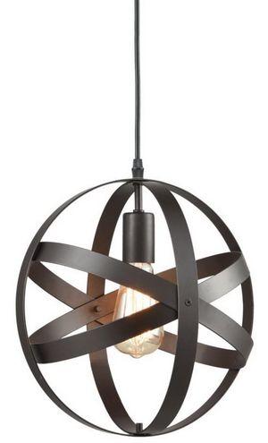 Truelite Industrial Metal Spherical Pendant Displays Changeable Hanging Lighting Fixture for Sale in Alexandria, VA