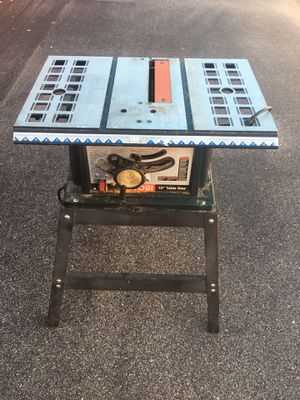 Ryobi 10in table saw for Sale in Virginia Beach, VA