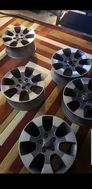 Jeep wrangler wheels (JL) 18inch for Sale in Carrollton, TX