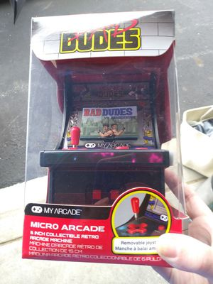 Bad Dudes Mini Arcade Game New for Sale in Westerville, OH