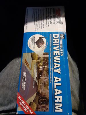 Wireless driveway alarm x2 for Sale in Phoenix, AZ