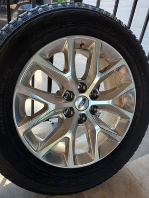 "20"" Ford F150 Limited rims 20 inch F-150 wheels tires for Sale in Humble, TX"