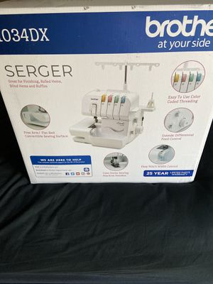 Brother serger sewing machine BNIB for Sale in Gilbert, AZ