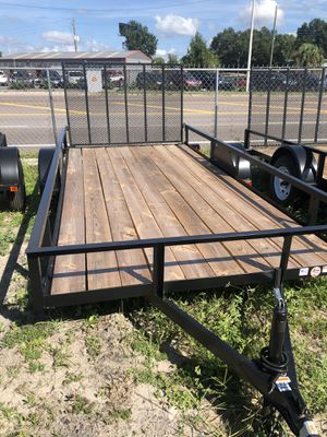 Utility trailer 6.4x14SA Triple Crown @ Brothers Trailers for Sale in Tampa, FL