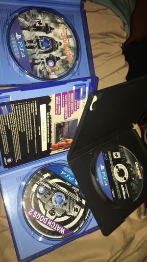 3 PS4 games for $25 for Sale in Rialto, CA