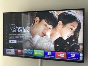Vizio smart tv 50inches! Super good condition! for Sale in Dallas, TX