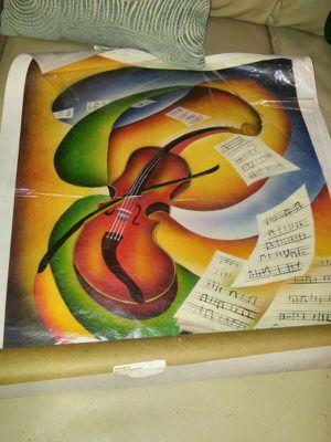 Violin canvas 35.00 obo for Sale in Philadelphia, PA