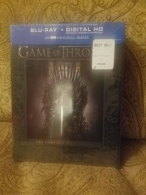 Game of thrones 1st season blu ray for Sale in Greenville, NC