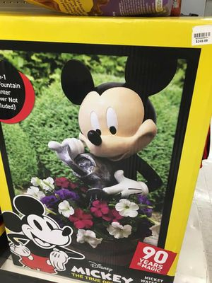 "Disney Mickey Mouse 14"" Garden Resin Planter Fountain for Sale in City of Industry, CA"