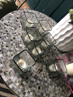 Small candle/ flower vases. for Sale in Spring Valley, CA