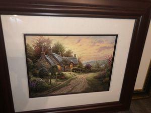 """Thomas Kinkade """"A Peaceful Time"""" 12x16 LE 2641/2850 for Sale in West Monroe, LA"""