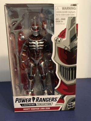 HASBRO Sabans Power Rangers Lightning Collection Lord Zed Action Figure for Sale in Egg Harbor Township, NJ