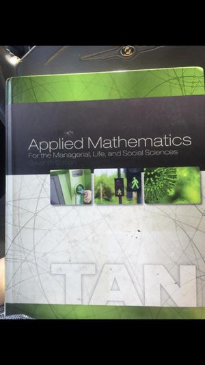 Applied mathematics book 7th for Sale in Grenada, MS