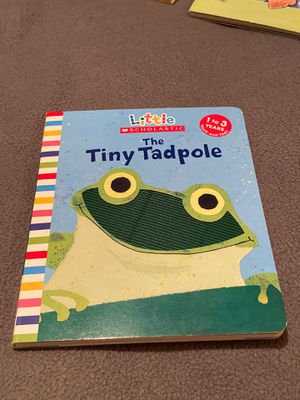 The Tiny Tadpole, touch and feel book, fir ages 1-3 by Scholastic for Sale in San Antonio, TX