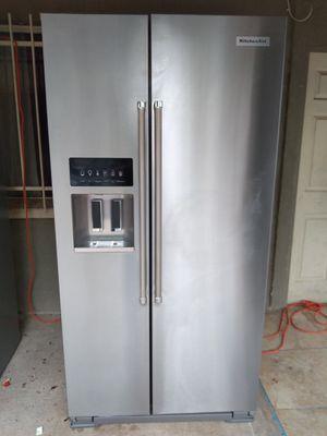 KitchenAid side-by-side counter depth stainless steel fridge for Sale in Phoenix, AZ