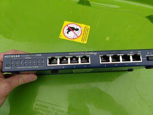 Netgear 8 port switch for Sale in Montrose, CO