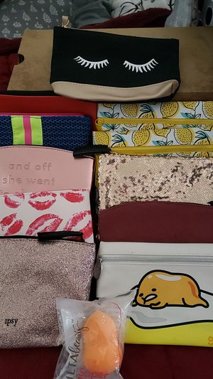 IPSY BAGS,BRAND NEW UN-USED for Sale in Hemet, CA