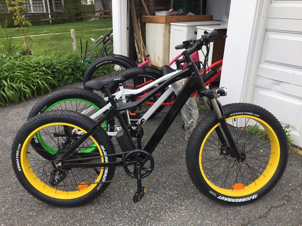 New Black Fat Tire Electric Bicycle/Bike