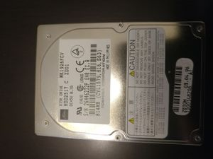 Toshiba 814 MB internal laptop drive for Sale in San Diego, CA