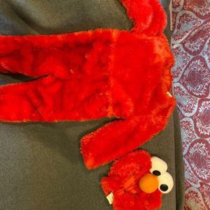 Toddlers Elmo Furry Costume + Headpiece for Sale in The Bronx, NY