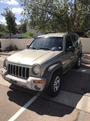 2004 Jeep Liberty 4x4 for Sale in Mesa, AZ