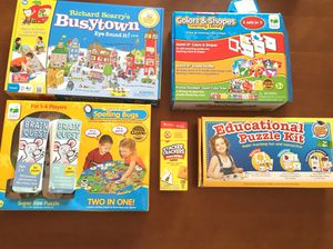 Learning Games/Puzzles for Sale in Richmond, TX