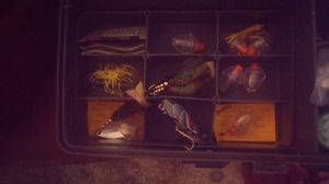 Antique fishing tackle and tackle boxes. for Sale in Modesto, CA