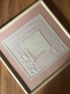 Price Reduced! Antique Framed Hankies for Sale in Vancouver, WA