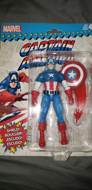 Marvel Legends Avengers Retro Captain America for Sale in Chicago, IL