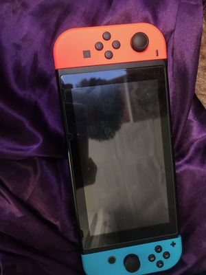 NINTENDO SWITCH + 4 GAMES (NO DOCK) for Sale in Boston, MA