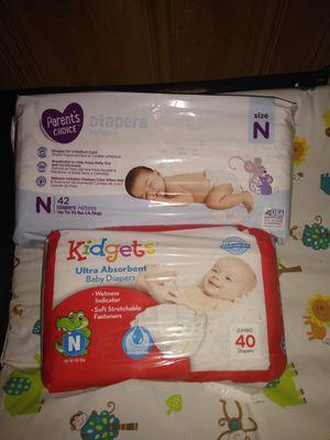 Newborn diapers for Sale in Chicago, IL