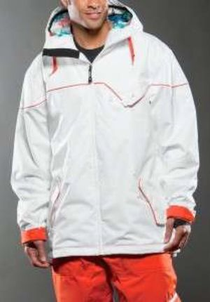Orange and White Oakley Snow Suit for Sale in Gaithersburg, MD