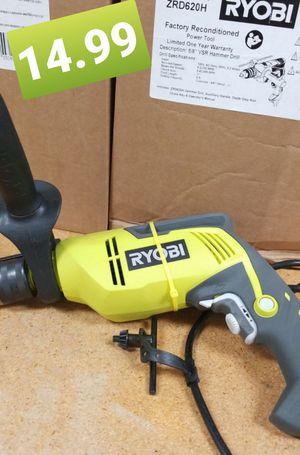 "Ryobi vsr hammer drill 5/8"" for Sale in San Marcos, TX"